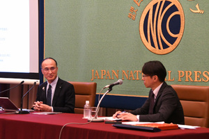 「オリンピック・パラリンピックと社会」(1)  浅川伸・日本アンチ・ドーピング機構専務理事 写真 3