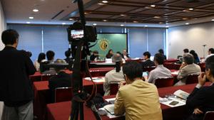 ウェイウェイ・ヌー・ミャンマー人権活動家 会見 写真 4