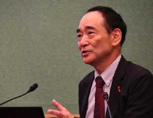 「HIV/エイズ」松下修三・日本エイズ学会理事長 写真 2