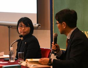 著者と語る『徴用工裁判と日韓請求権協定-韓国大法院判決を読み解く』青木有加・弁護士 写真 3