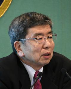 中尾武彦・アジア開発銀行(ADB)総裁 会見 写真 1