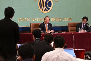 「オリンピック・パラリンピックと社会」(3) 武藤敏郎・東京2020組織委員会事務総長 写真 3