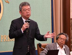 著者と語る『2050年のメディア』下山進・慶応義塾大学総合政策学部特別招聘教授 写真 3