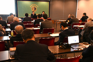 中尾武彦・アジア開発銀行(ADB)総裁 会見 写真 5