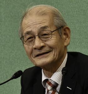 吉野彰・旭化成名誉フェロー 会見 写真 2