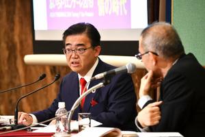 「<表現の不自由展・その後>のその後」(5) 大村秀章・愛知県知事 写真 3
