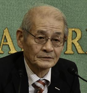 吉野彰・旭化成名誉フェロー 会見 写真 3