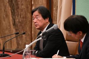 著者と語る『見えない戦争 インビジブルウォー』田中均・日本総研国際戦略研究所理事長 写真 3