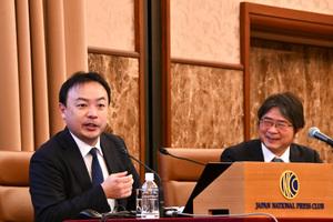 「2020年経済見通し」(3) デジタル時代の経済 森健・野村総合研究所上級研究員 写真 3