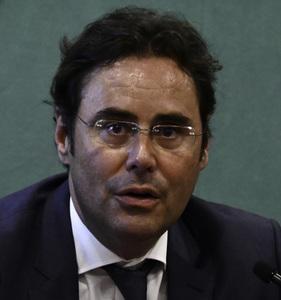ホルヘ・トレド・アルビニャーナ駐日スペイン大使 会見 写真 1