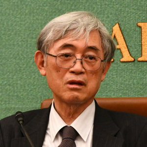 佐々木毅・東京大学名誉教授 会見 写真 1