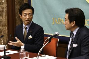 「次の10年 若手政治家に問う」(2) 鈴木隼人・衆議院議員(自由民主党) 写真 3