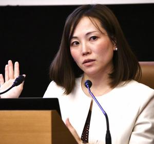 平田麻莉・フリーランス協会代表理事 会見 写真 2