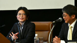 「雇用問題研究会」(1) 同一賃金は非正規を救えるのか 神吉知郁子・立教大学准教授 写真 3