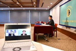 「新型コロナウイルス」(19) 飯泉嘉門・全国知事会会長 写真 2