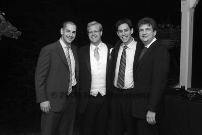 What an amazing group of people. This is a picture taken of me, Krister, Yaron, and Tony at Krister's wedding.