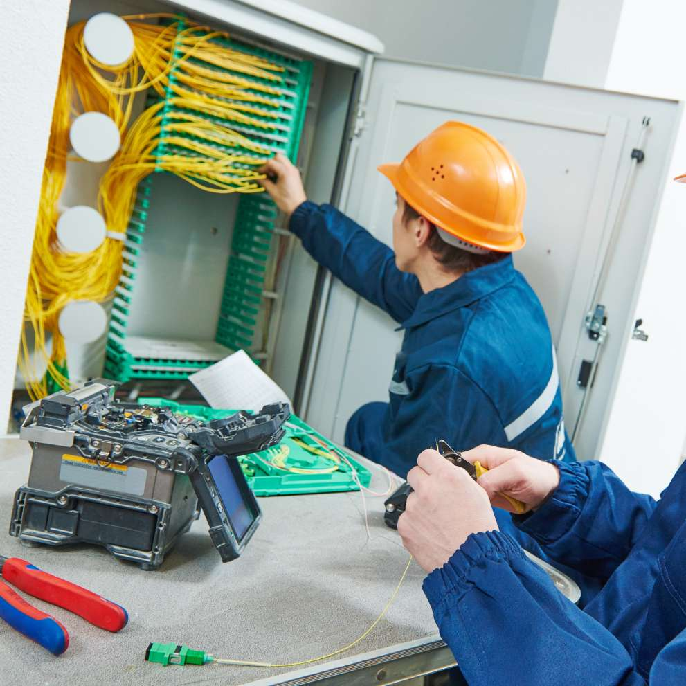 network cable installation job corps