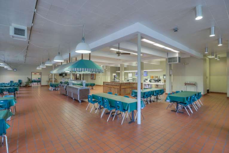 Cascades Job Corps Center cafeteria