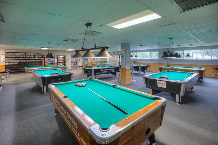 Cascades Job Corps Center pool room