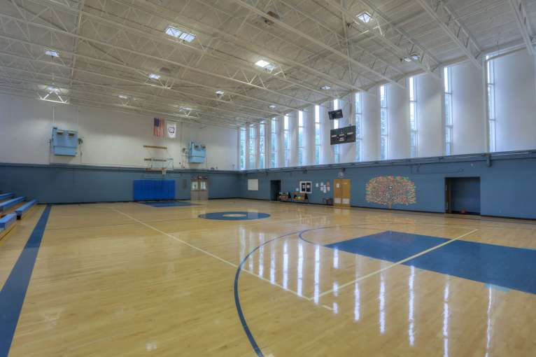 Cascades Job Corps Center gymnasium
