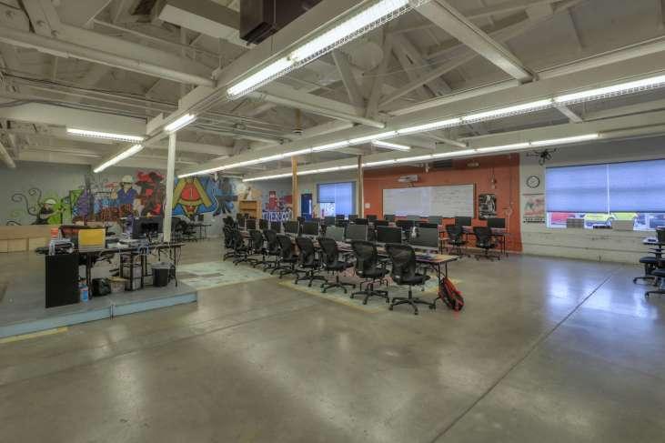 Cascades Job Corps Center classroom