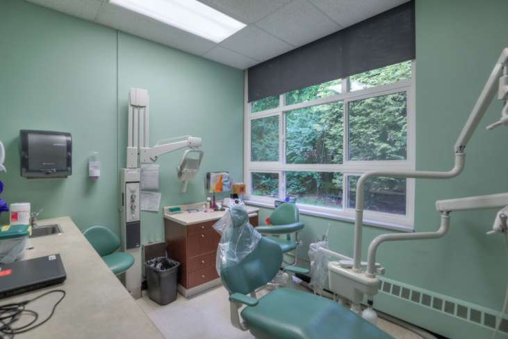 Cascades Job Corps Center dental exam room