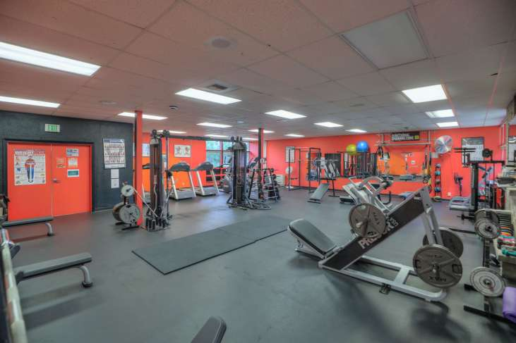 Cascades Job Corps Center weight room