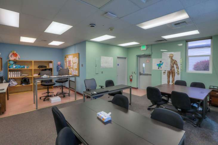 Cascades Job Corps Center health care training area