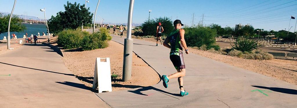 Paul Herberger Ironman Arizona running