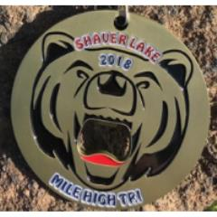 "Shaver Lake ""Mile High"" Triathlon, Duathlon, Aquabike, 5K"