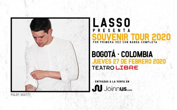 LASSO/SOUVENIR TOUR 2020/BOGOTA.
