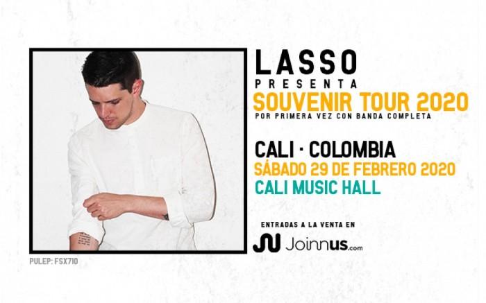 LASSO/SOUVENIR TOUR 2020/CALI.