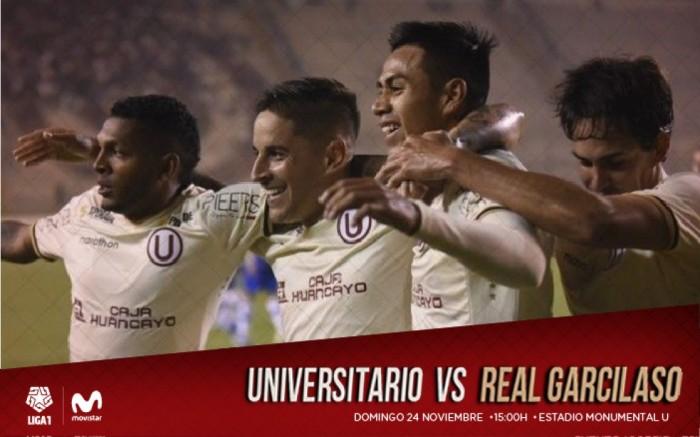 Universitario vs. Real Garcilaso   Clausura 2019 - Fecha 17