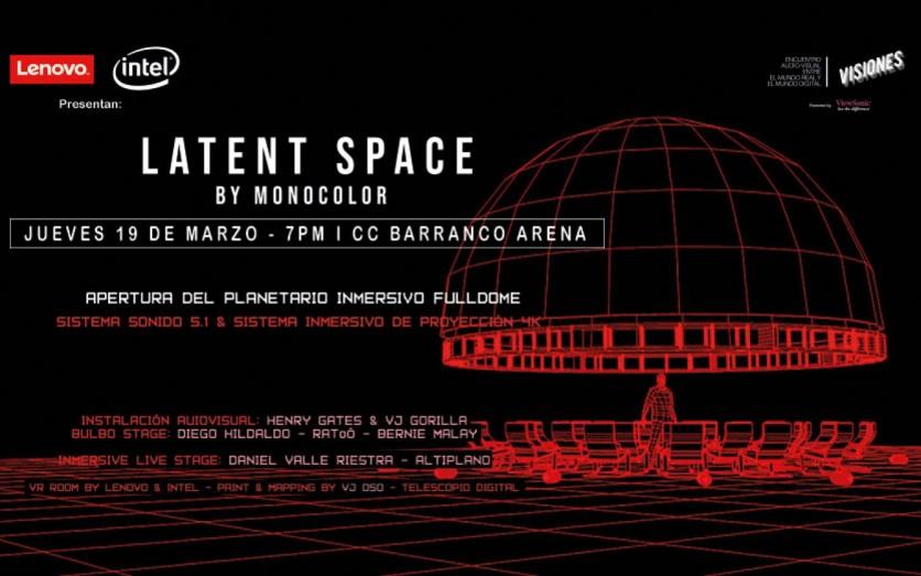 Latent Space by Monocolor Presentado Por Lenovo & Intel