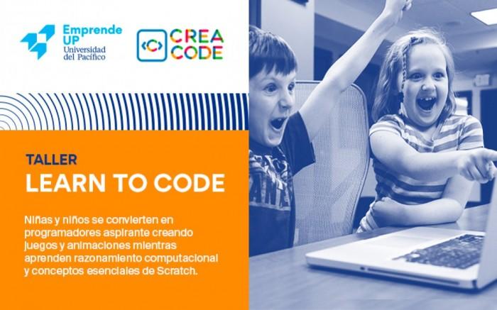 TALLER PARA NIÑOS: Learn to Code