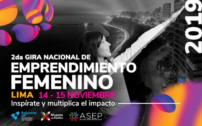 GIRA NACIONAL DE EMPRENDIMIENTO FEMENINO - SEDE LIMA