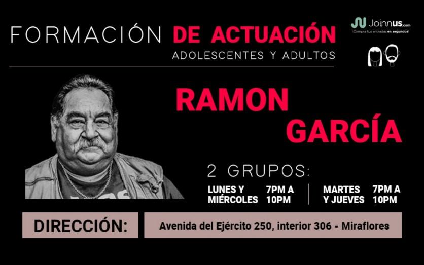 Estudio Drama Ramón García - Formación Actoral