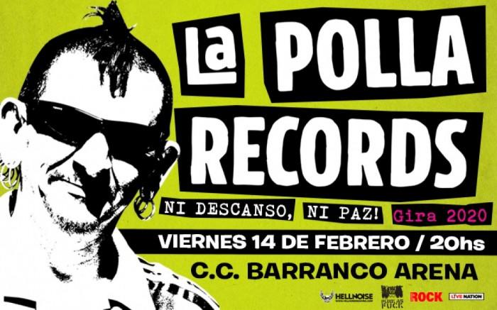 LA POLLA RECORDS en Lima
