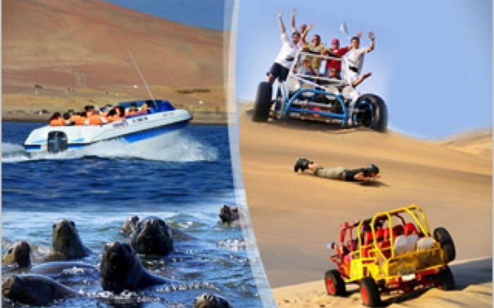 Full day Paracas, Ica y Huacachina