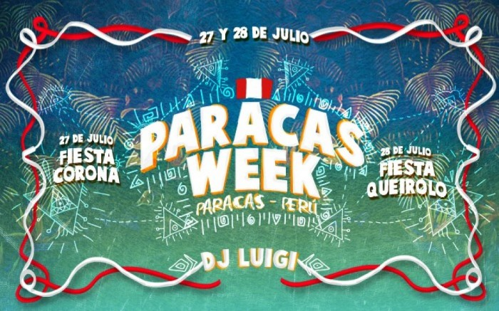Paracas WEEK - 27 & 28 Julio /  / Joinnus