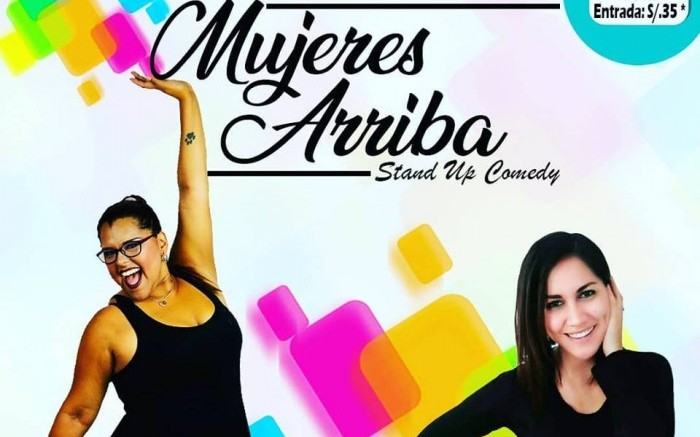 MUJERES ARRIBA STAND UP COMEDY