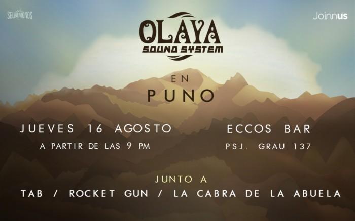Olaya Sound System en Puno / Gira Despierten las Montañas /  / Joinnus