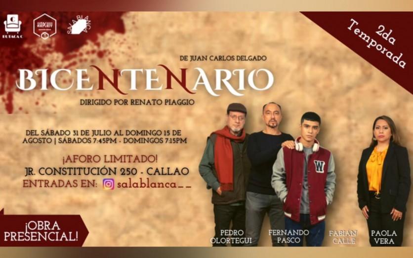 Bicentenario - Obra Presencial