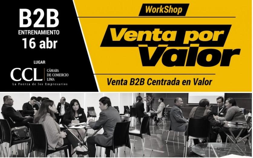 Workshop Venta Por Valor | 16/04