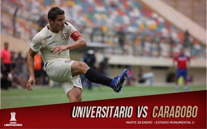 Universitario vs Carabobo F.C