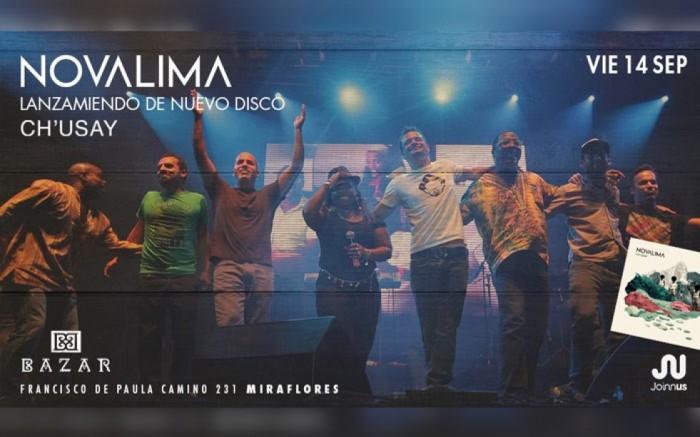 Novalima: presentación de nuevo disco CH'USAY !   /  / Joinnus