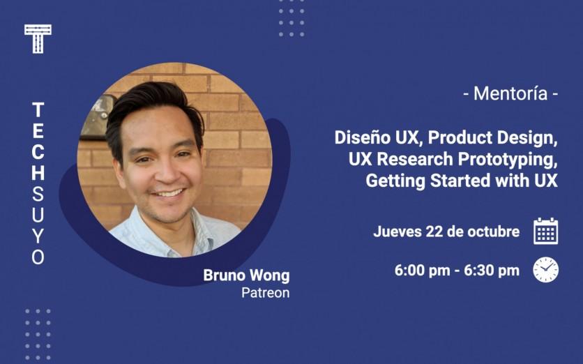 Mentoría: Diseño UX, Product Design, Design Research.