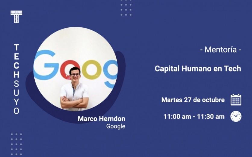 Mentoría: Capital Humano en Tech