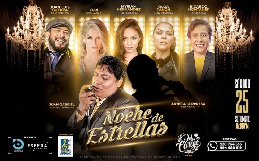 NOCHE DE ESTRELLAS