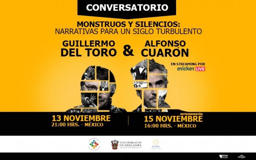 GUILLERMO DEL TORO Y ALFONSO CUARÓN -